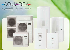 Tepelná čerpadla Panasonic Aquarea