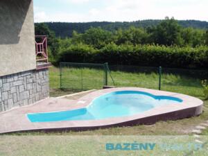 Bazén fóliový