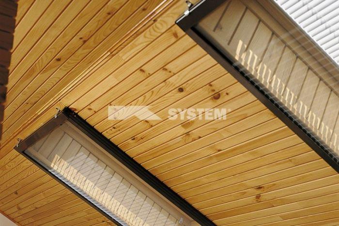 Okenní sítě v podkroví