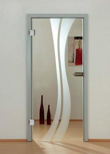 Otvíravé skleněné dveře