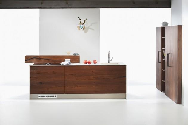 Kuchyně ze starého dubu- Le Bon