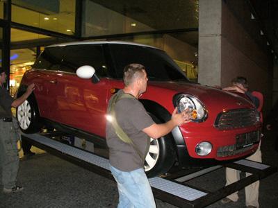 Stěhování auta