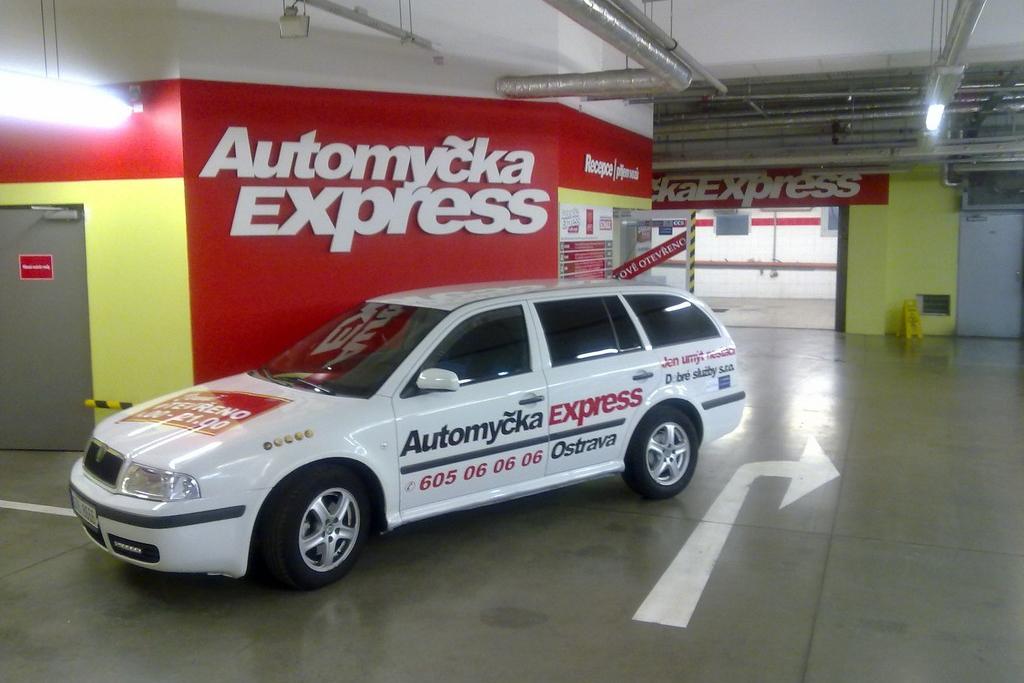 Automyčka Express Ostrava