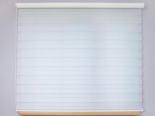 Textilní rolety do oken zavřené