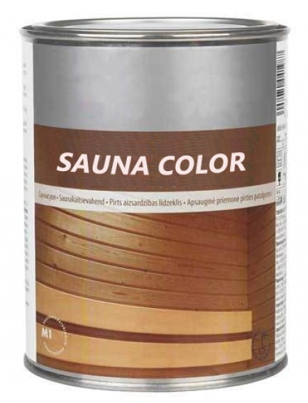 Barva do sauny