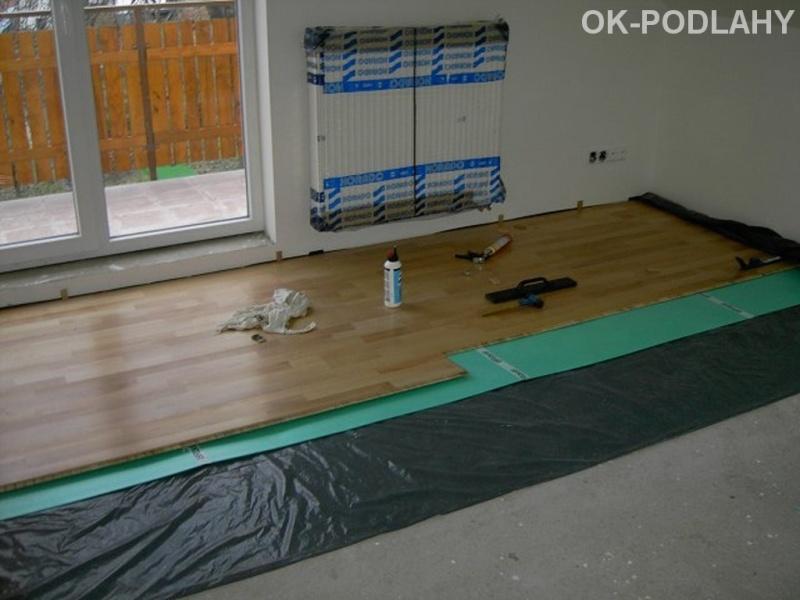 Dýhová plovoucí podlaha