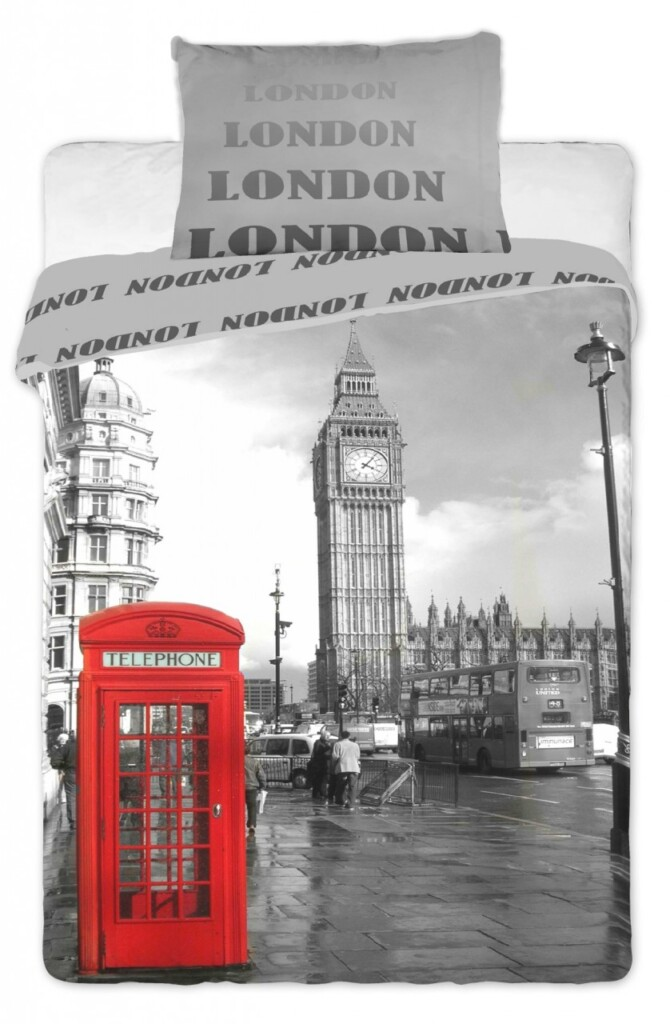 Povlečení Londýn