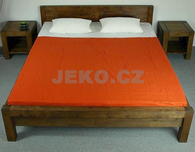Břízová postel z masivu