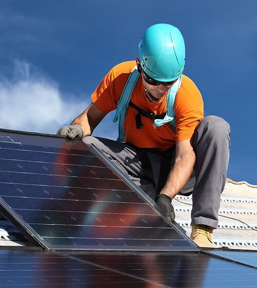 Hybridní fotovoltaická elektrárna