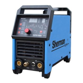 DIGITIG 200 GD 200 A - 40% Svářecí invertor tig s hořákem a kabely