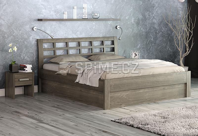 Buková postel Geona