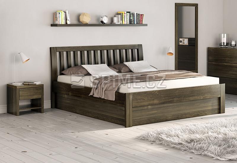 Dubová postel BELNA