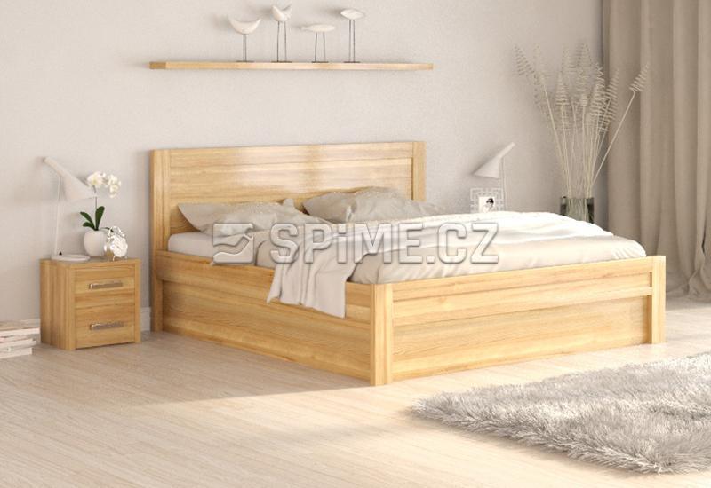 Dubová postel ESTER