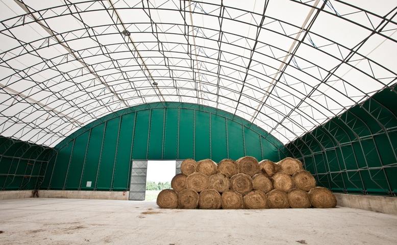 Montovaná zemědělská hala