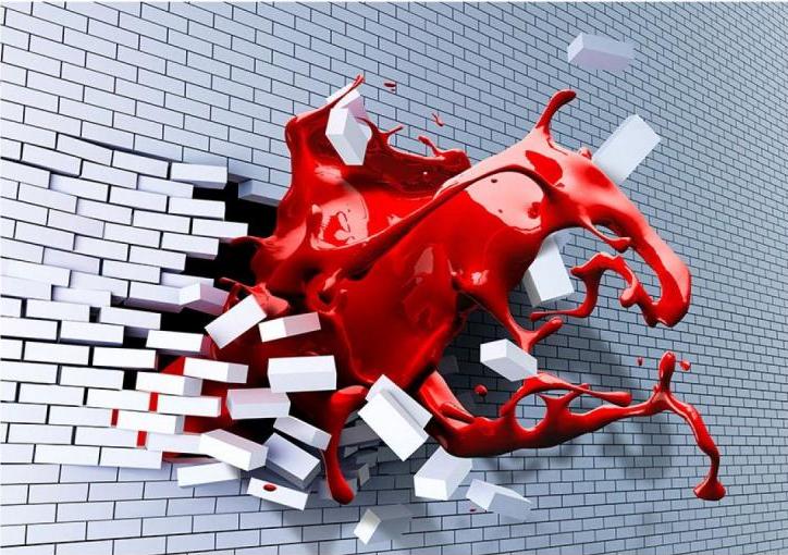 Fototapeta 3D cihlová zeď