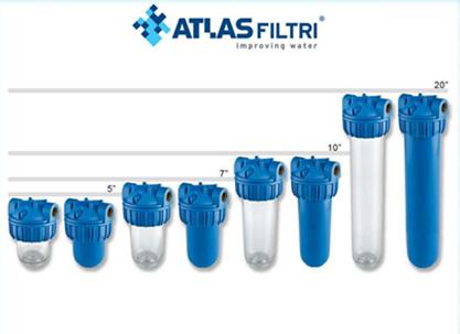 Vodní filtry Atlas