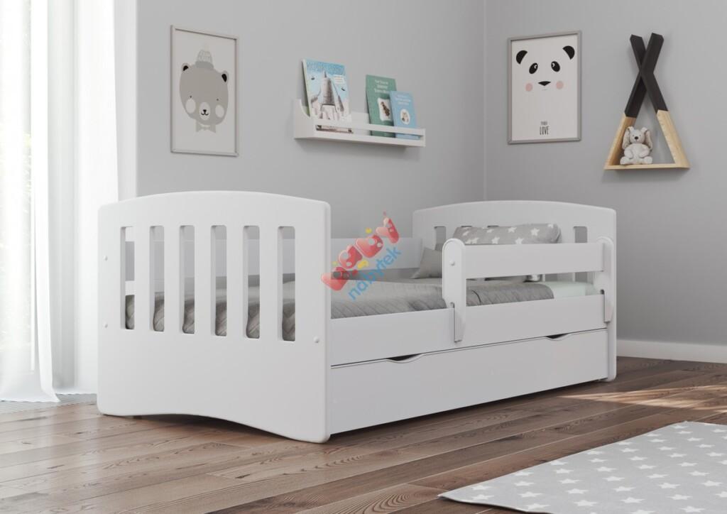 Dětská bílá postel